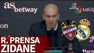 """Gambar cover Levante 1 - Real Madrid 0   Zidane: """"Lo de Hazard no tiene buena pinta"""""""