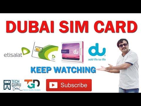 दुबई में कोनसी सीम कार्ड है | DUBAI SIM CARDS | HINDI URDU | HOW TO GET DUBAI JOBS | PART 20