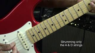 BRAIN STEW Green Day Guitar Lesson Play With 2 Fingers Lesson EricBlackmonGuitar Resimi