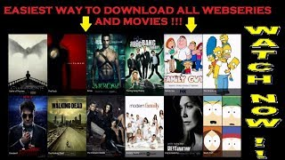 EASIEST WAY TO DOWNLOAD ALL WEBSERIES AND MOVIES