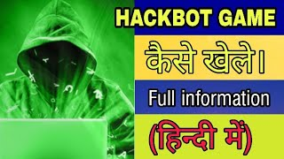Hack bot game |hacking game on play store & appstore |2020|how to play screenshot 1
