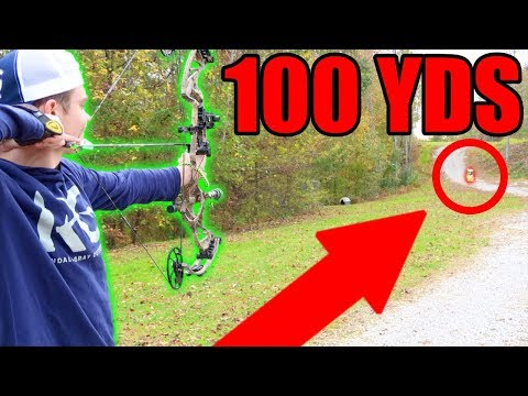 EPIC LONG SHOT BOW CHALLENGE! (100 YARDS)
