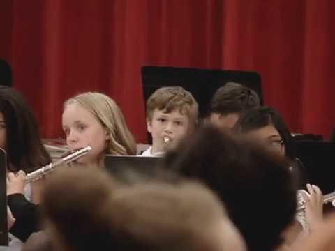 Hot Cross Buns Foxboro Elementary School Band