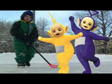 Teletubbies | Ice Skating | Finland | 104 | Cartoons for Children
