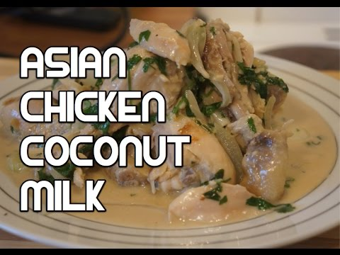 Easy Thai Style Chicken & Coconut Recipe - Asian Lemon Grass