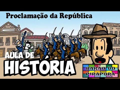 Aprendendo com Videoaulas: História: Proclamação da República