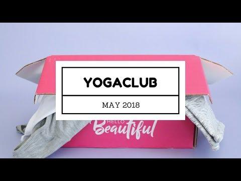 YogaClub Subscription Box Unboxing May 2018