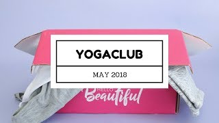 YogaClub Subscription Box Unboxing May 2018
