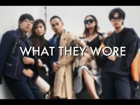 WHAT THEY WORE | Artists & Company Manila Office
