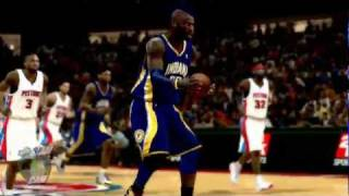 NBA 2K12 PC My Player - [11th game] Nasty Dunk