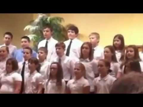Cedar View Christian School Em Choir 2012
