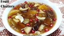 বিয়েবাড়ির মিক্সড ফলের(FRUIT)  চাটনি || Bengali Style Mixed Fruit Chatni/Chutney
