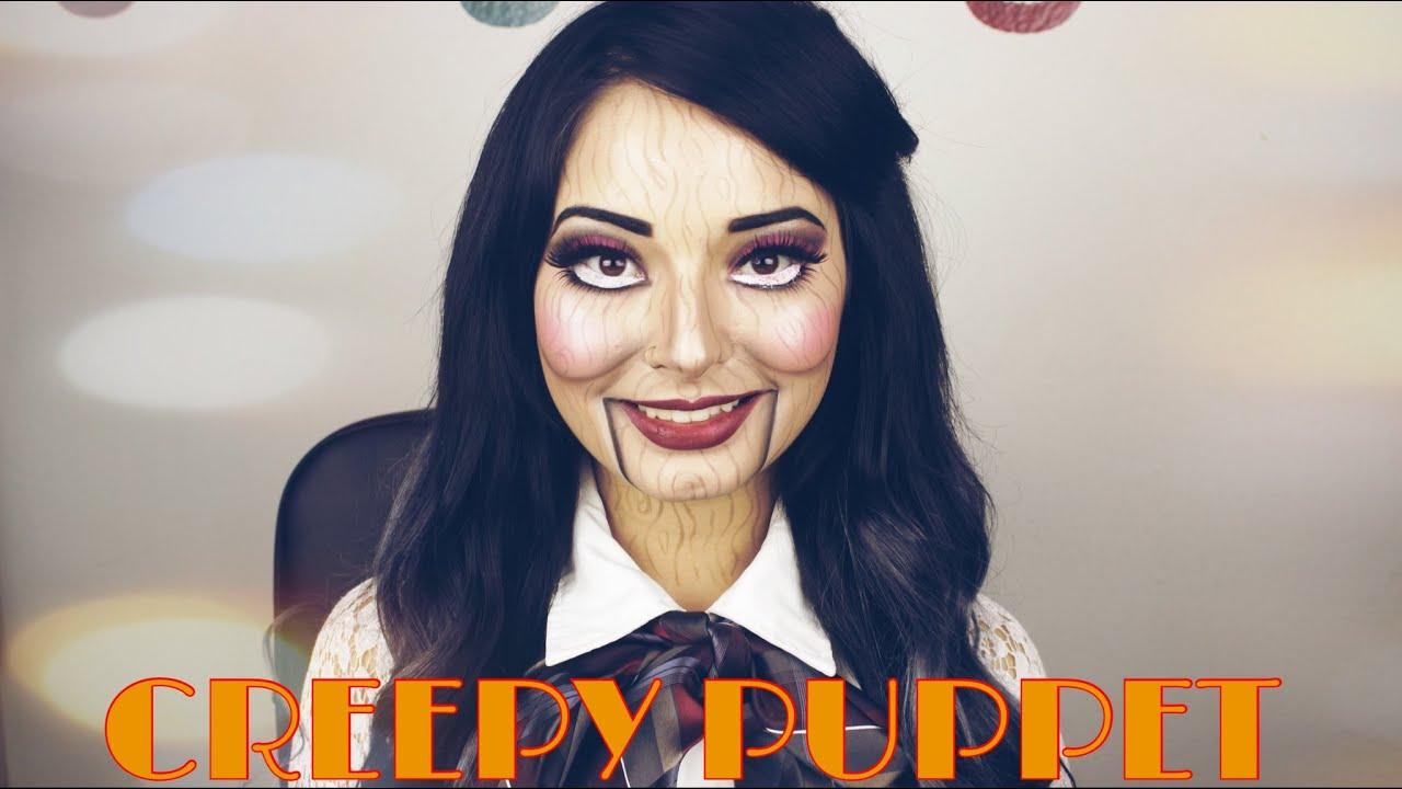 marioneta ventrilocuo halloween makeup puppet youtube - Puppet Halloween