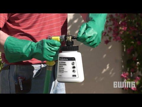 how to make a hose end sprayer