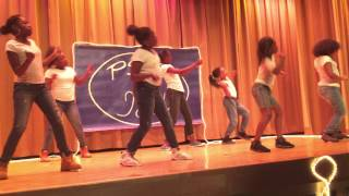 mariah s talent show group dance to lil man anthem part 2