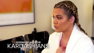 KUWTK | Kim, Khloé and Kylie React to Rob Kardashian's Engagement | E!