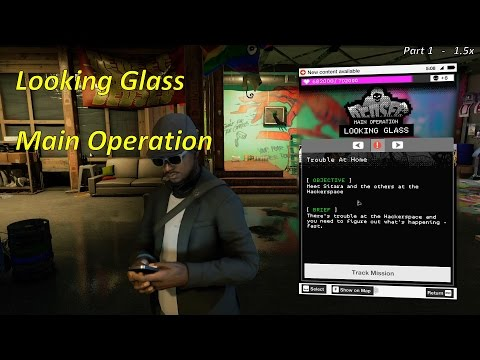 Looking Glass Playthrough - Main Operation | Watch Dogs 2