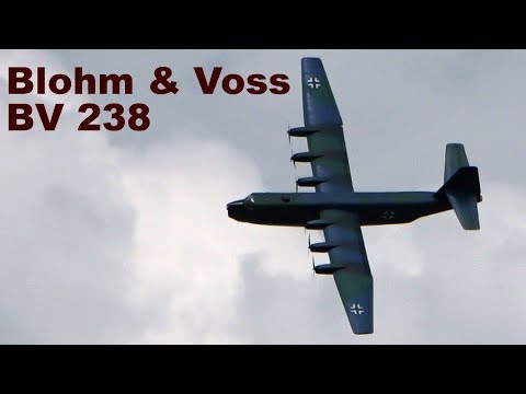Blohm & Voss BV 238, giant scale RC flying boat, 2019