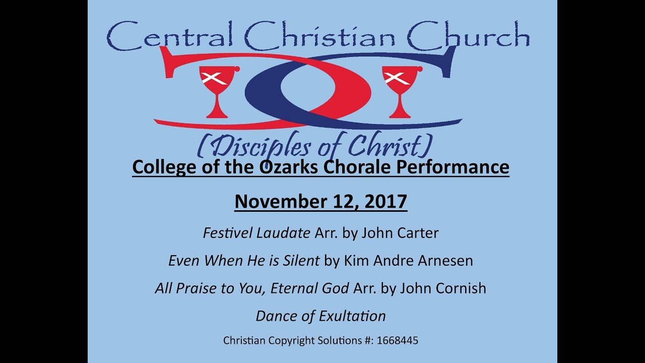 College of the Ozarks Chorale Joins Central Christian for Worship