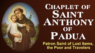 CHAPLET OF SAINT ANTHONY DE PADUA