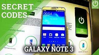 Codes in SAMSUNG N900 Galaxy Note 3 - Hidden Menu / Tips & Tricks