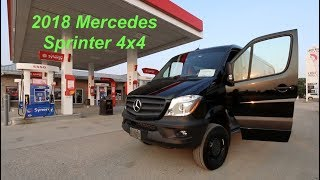 Taking Delivery of The 2018 Mercedes Sprinter 4x4