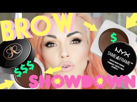 Makeup Showdown: Drugstore Brow VS. High End Brow Product
