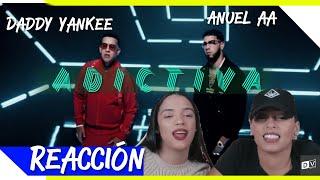 Daddy Yankee & Anuel Aa - Adictiva  Just Vlogging Reaccion