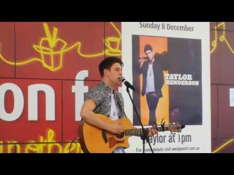 Taylor Henderson Singing Borrow My Heart @ Blacktown Westpoint (8.12.13)
