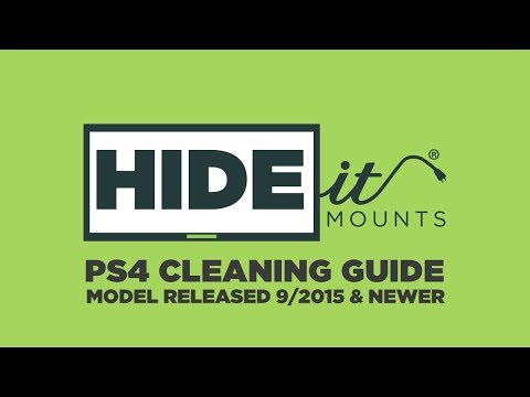 How to clean any PS4 Fan (Pro, Slim, or Original) - HIDEit