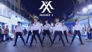 [KPOP IN PUBLIC ] MONSTA X 몬스타엑스 'Alligator' + 'Shoot Out' Dance Cover By FGDance From Vietnam