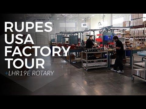 Rupes Product Series:  E4 - Facility Tour & LHR19E Rotary