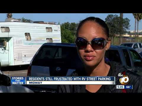 Residents frustrated with illegal RV street parking