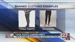 Yoga pants and other tight articles of clothing banned in schools