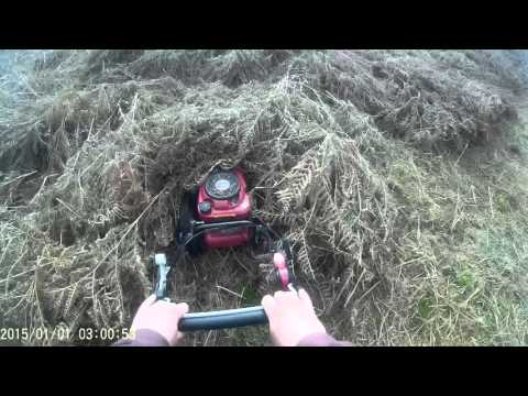 Clearing Creating With Tondu Wheeled Strimmer Part 2