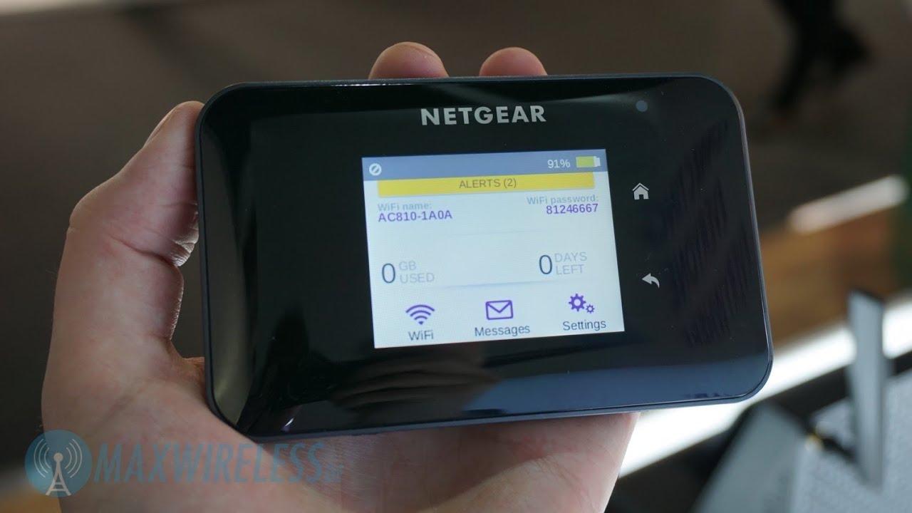 Netgear Aircard 810s Ac810s Mobile Hotspot Deutsch Doovi