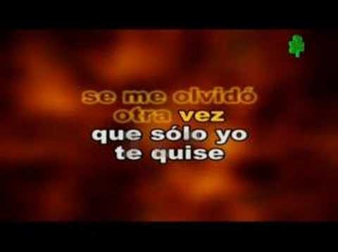 Maná Se Me Olvido Otra Vez Youtube