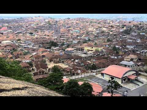 OLUMO  ROCK, Abeokuta. Ogun State. Nigeria 2015.