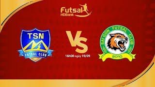 Trực tiếp: Thái Sơn Nam Vs Sài Gòn FC