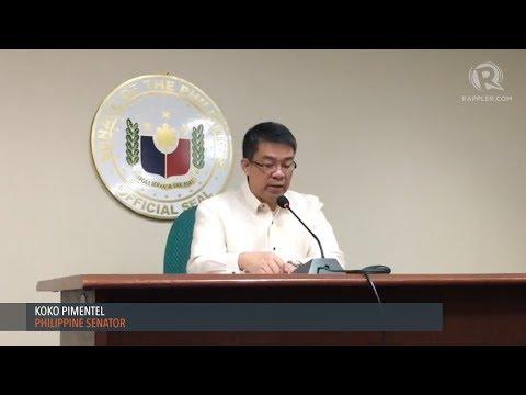 Koko Pimentel quits as Senate president