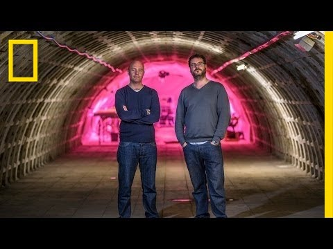 Onward: Underground Farming in a London Bomb Shelter   National Geographic