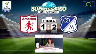 AMÉRICA DE CALI VS MILLONARIOS F.C. (#VIVO) - AL AIRE