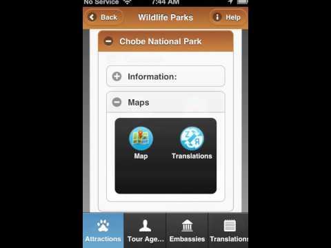 Safari Botswana Mobile App