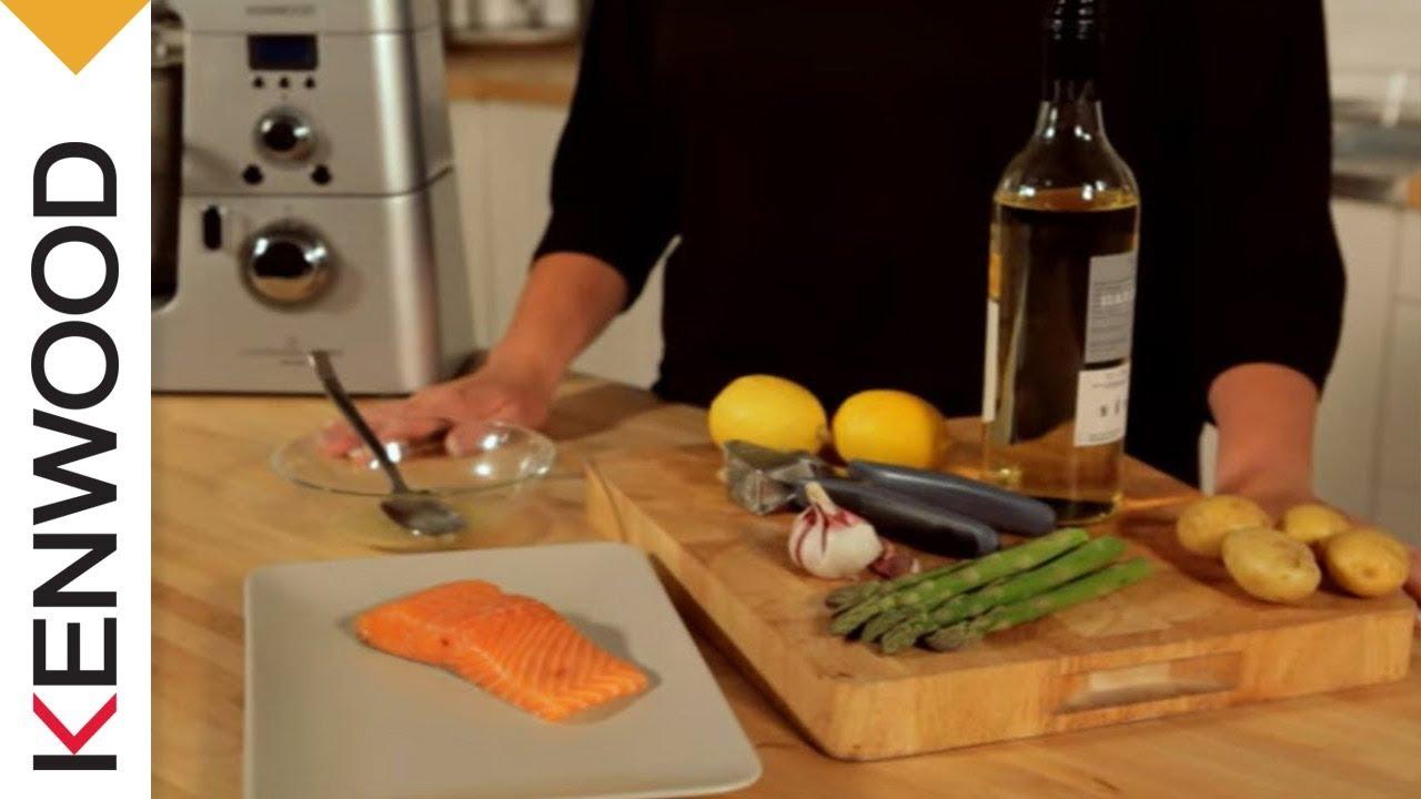 Salmone al Vapore Con Asparagi | Cooking Chef | Ricette (Italia)