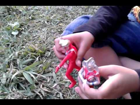 Ultraman vs monster burung by tegar