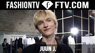 Juun. J Backstage Spring/Summer 2016 | Men's Paris Fashion Week | FashionTV