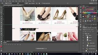 Hướng dẫn cắt html và copy css từ photoshop