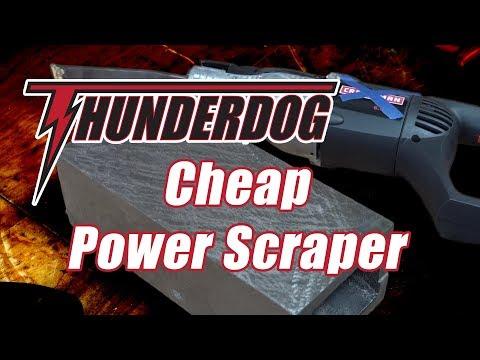 DIY Metal Scraper for machine tools // Power Scraping