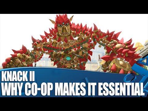 Knack II PS4 Gameplay - Why Co-op Makes It Essential