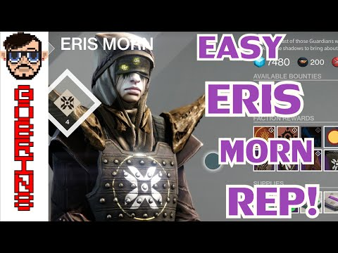 LEVEL UP ERIS MORN FAST! - How to Easily Complete Crota's Bane Daily Bounties and Rank Up!
